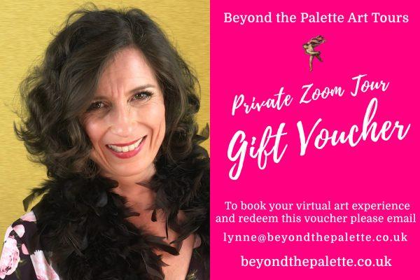 Private virtual tour gift voucher