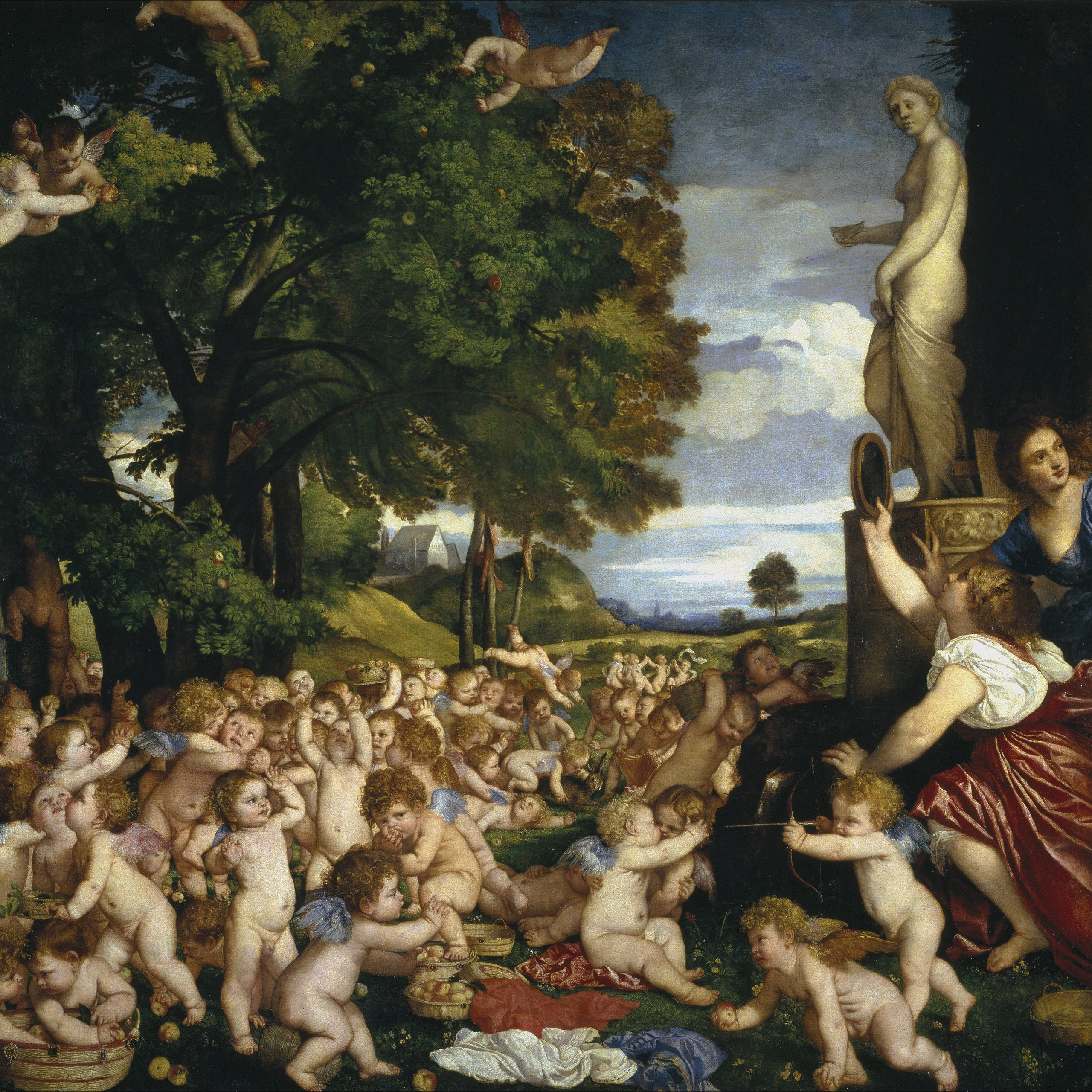 Worship of Venus Titian