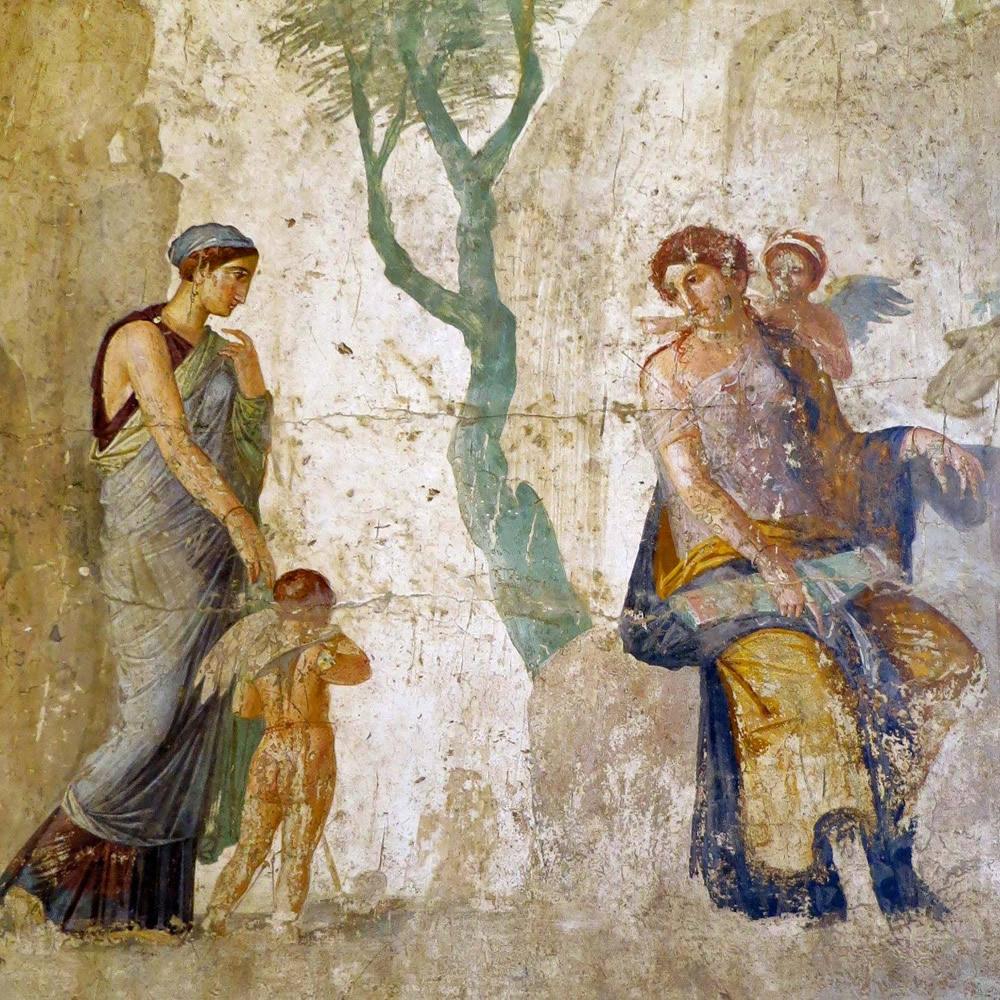 Eros and Anteros House of Love Punished Pompeii