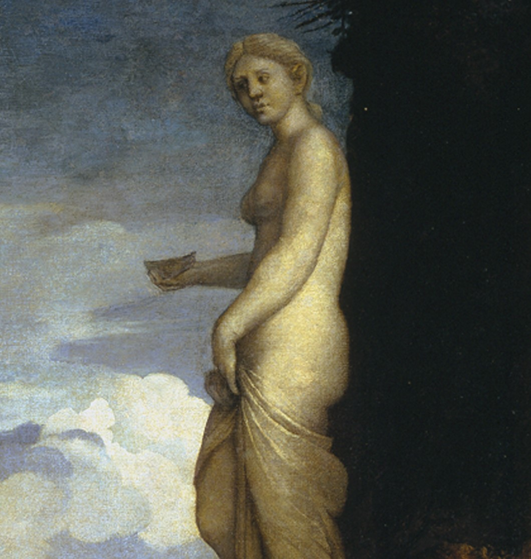 Detail of Venus from Worship of Venus for Alfonso d'Este