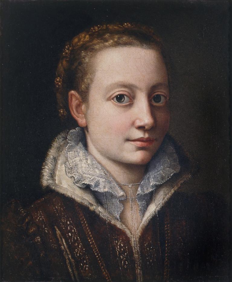 self portrait Sofonisba Anguissola