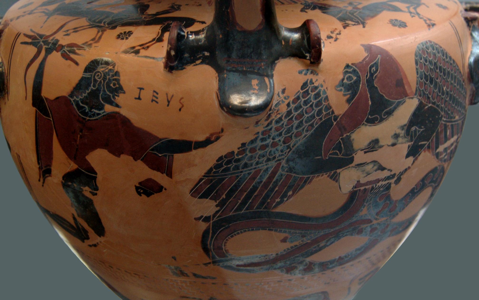 Zeus and Typhon, Staatliche Antikensammlungen, Munich