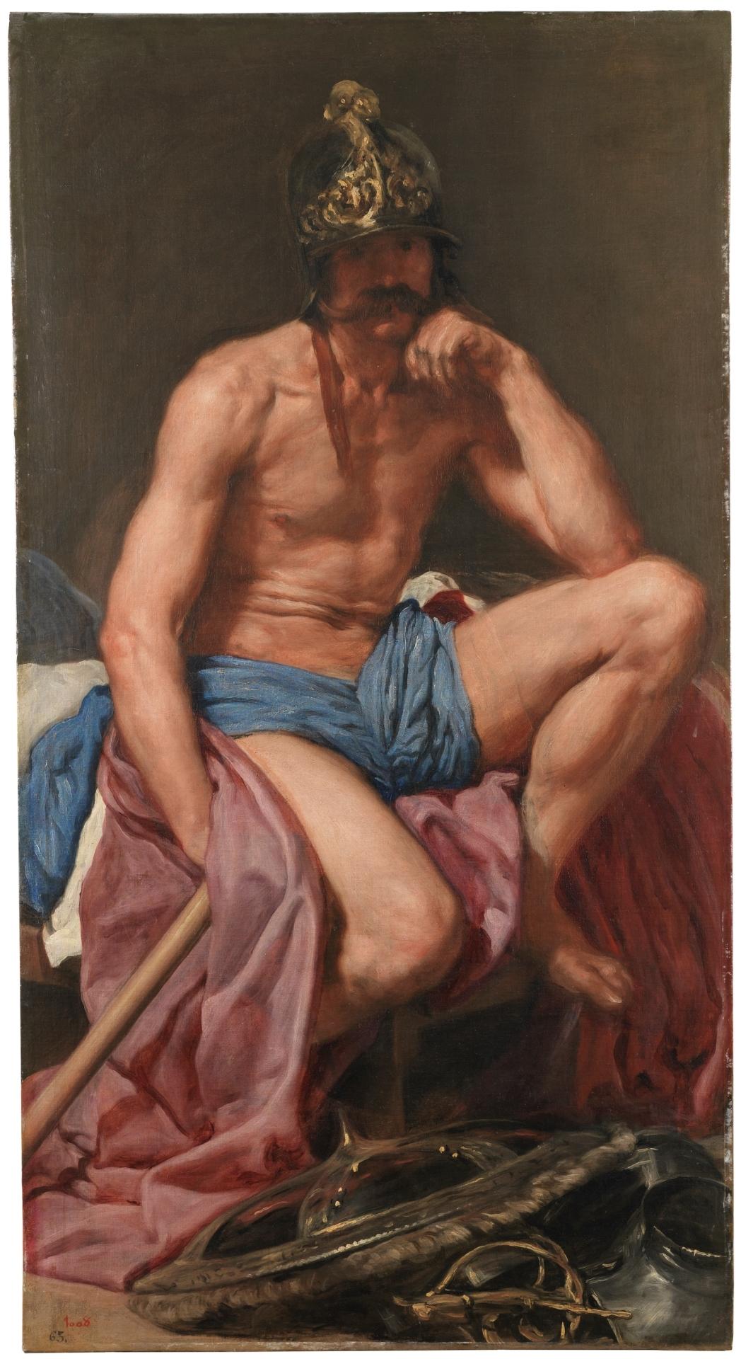 Diego Velázquez, Mars, c.1638, Prado, Madrid