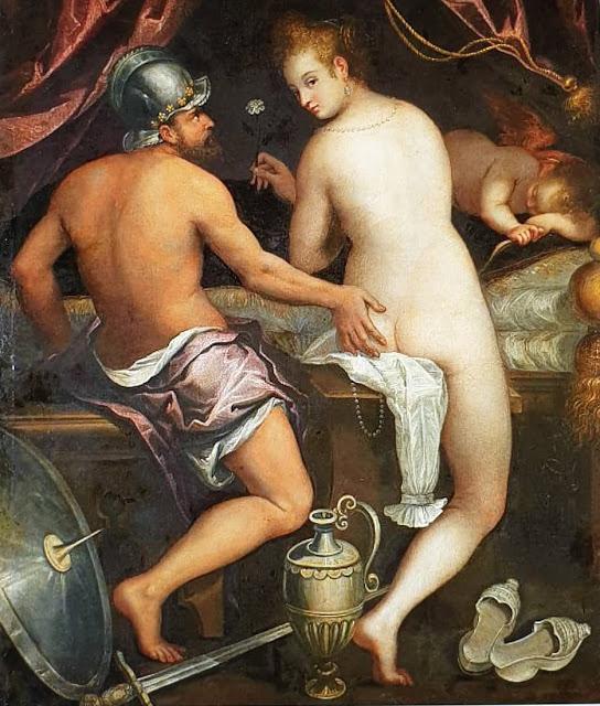 Lavinia Fontana Venus and Mars