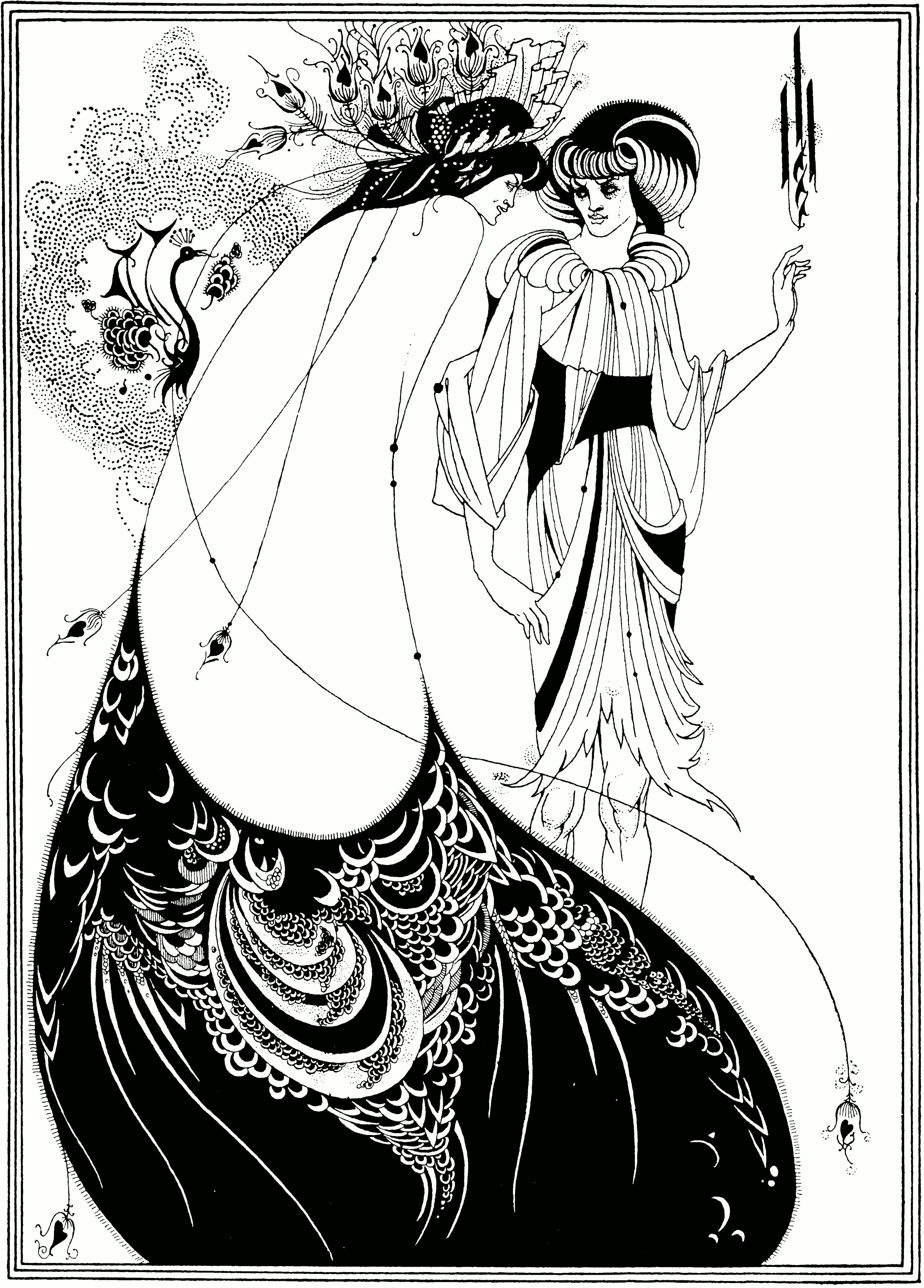 Aubrey Beardsley Salome