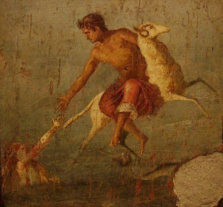 Pompeii Phrixus and Helle