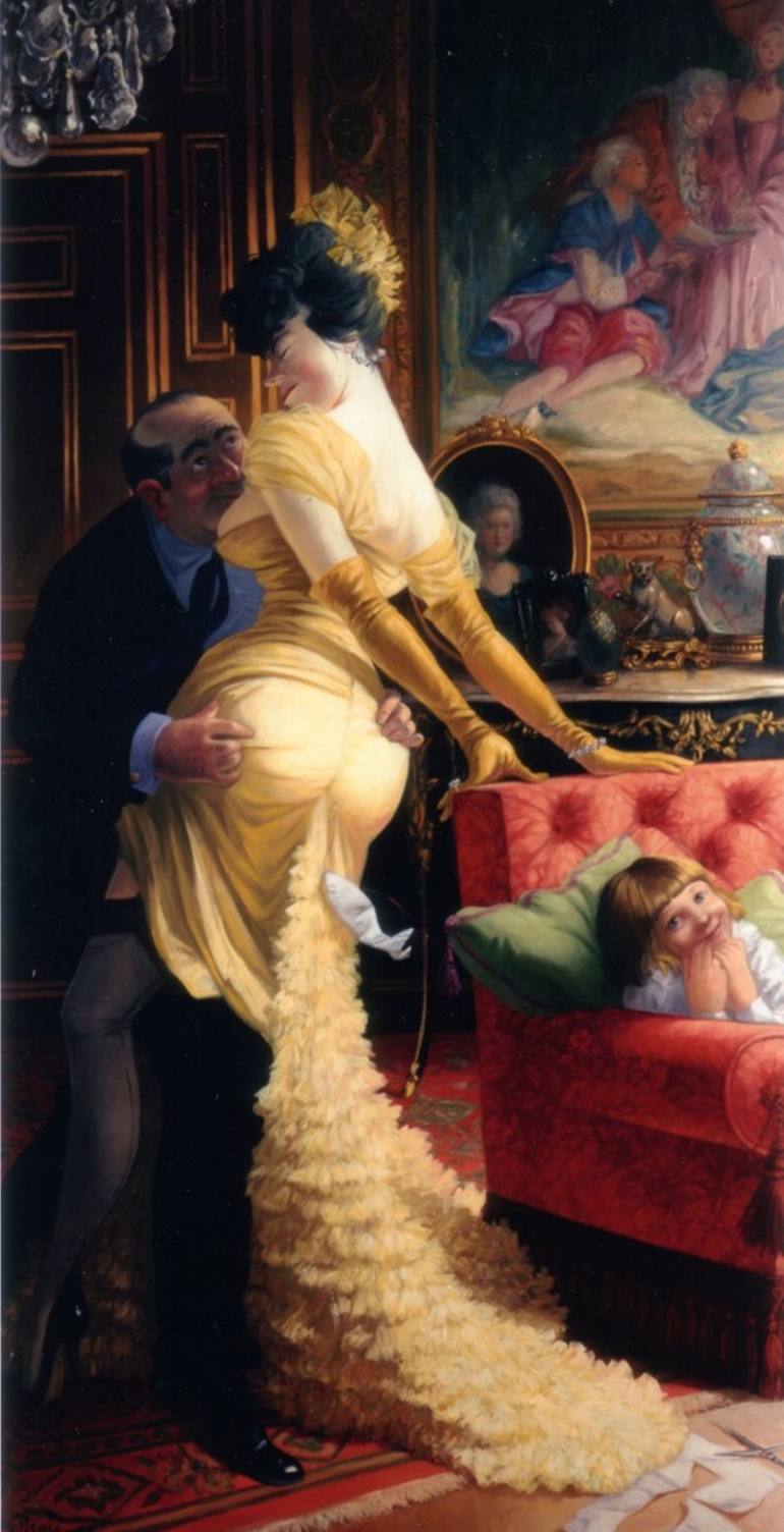 Saatchi collection, Thierry Bruet, April Fool