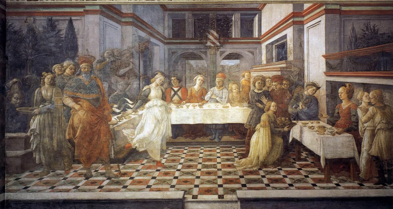 Fra Lippi Feast of Herod