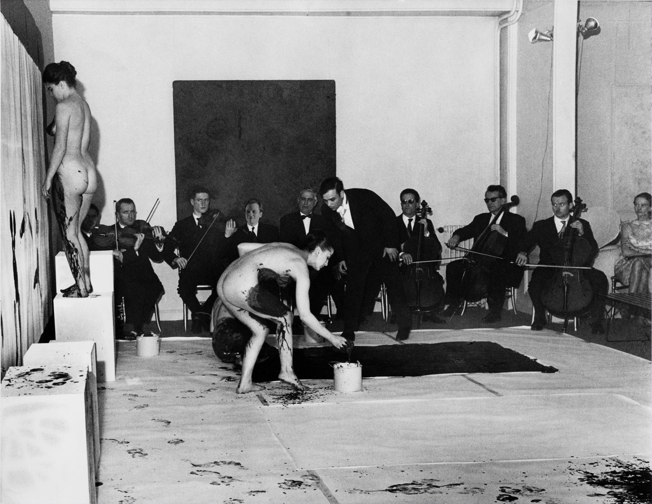 Anthropometrie Yves Klein