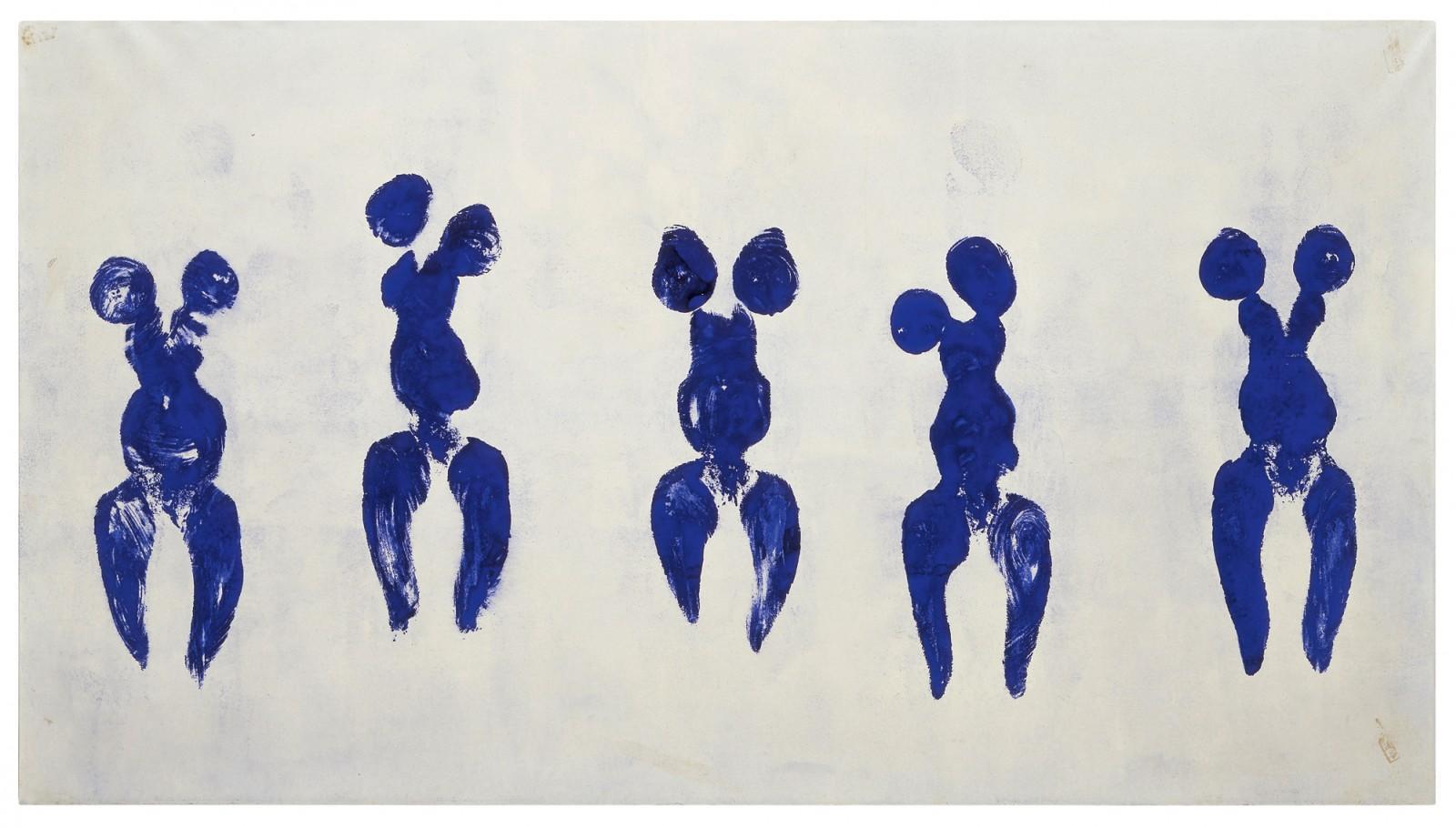 Anthropométrie 1960, Pompidou Centre