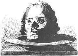 head of syphilitic prostitute