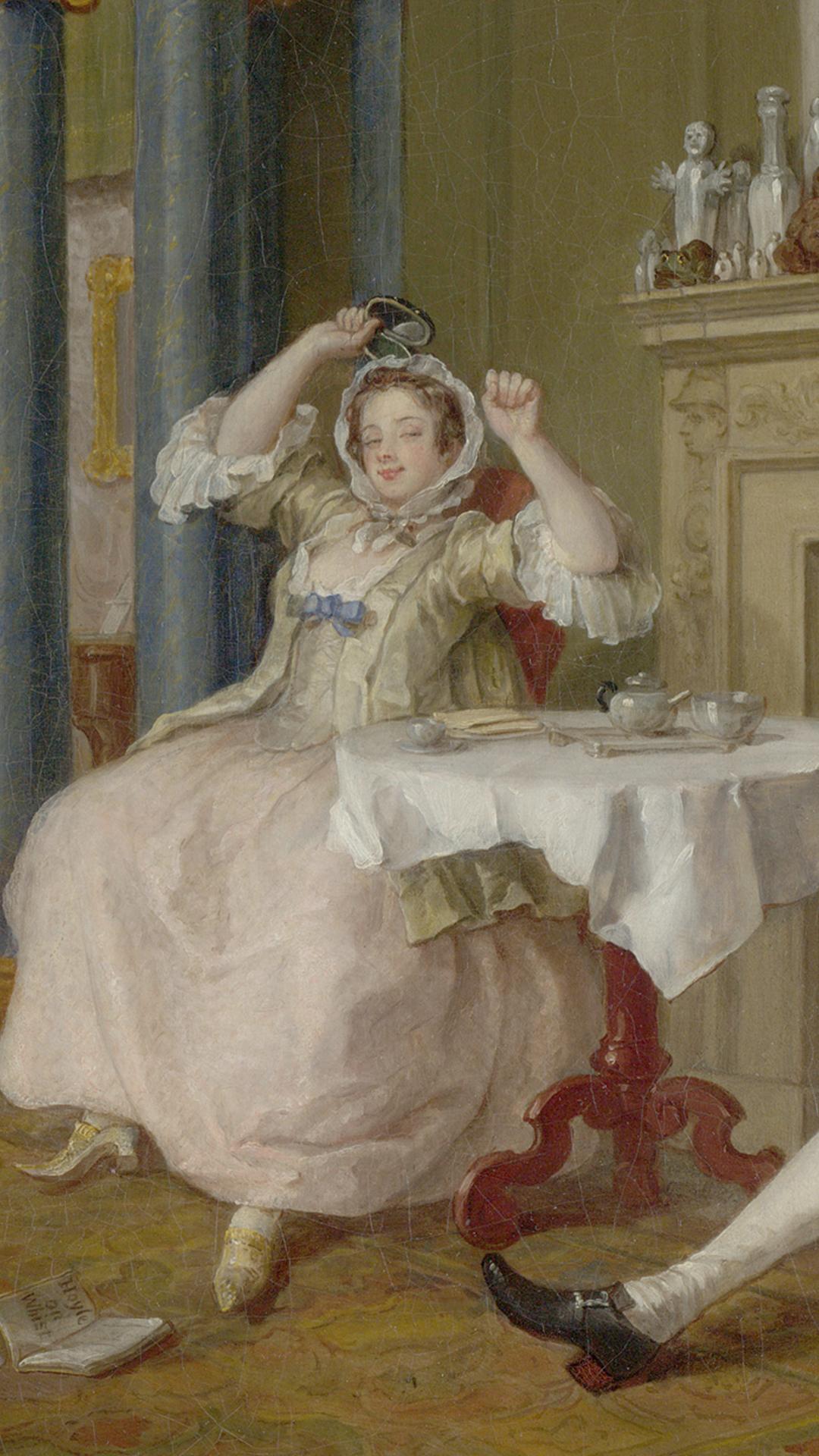 Viscountess Squander Tete a Tete