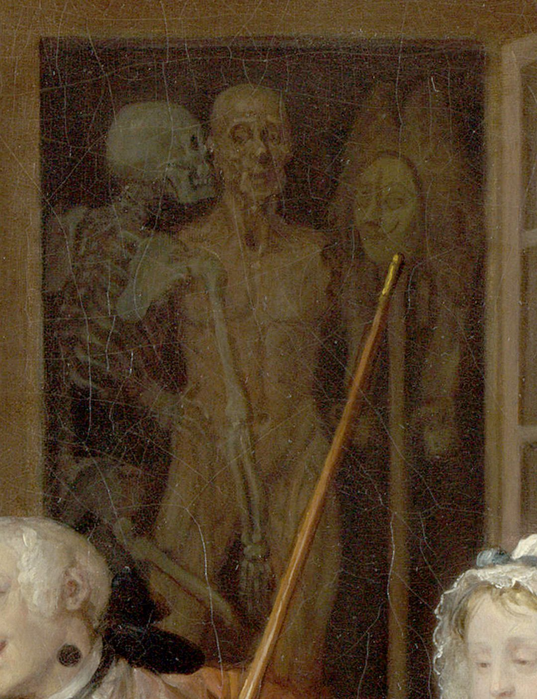 Propositioned by a skeleton Marriage a la Mode
