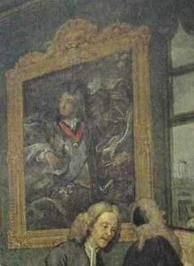 Earl of Squander's portrait after Van Loo
