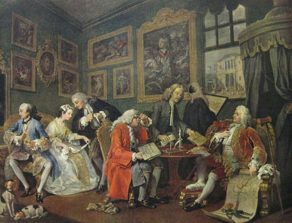Hogarth Marriage a la Mode