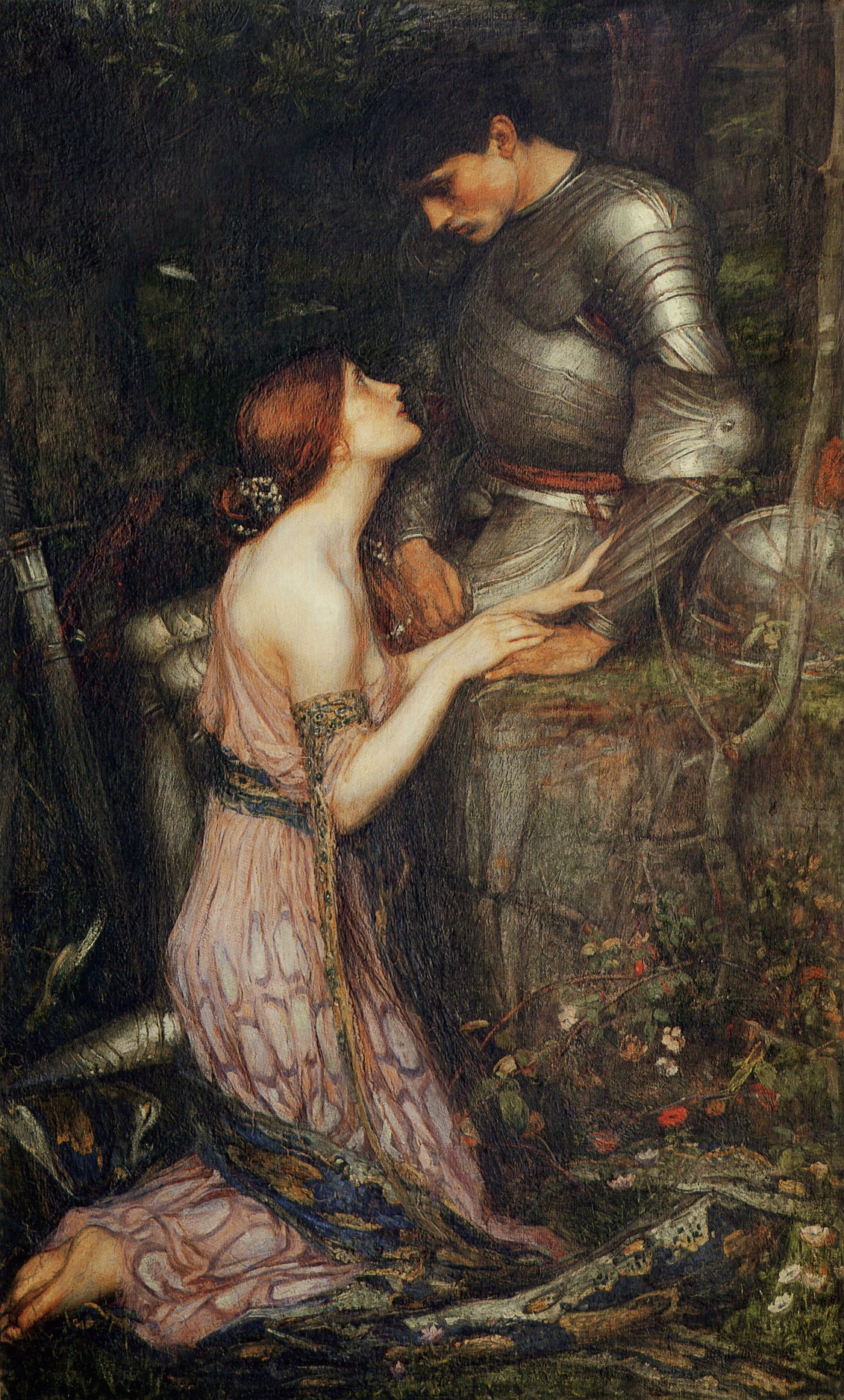 Lamia and the Knight, Waterhouse