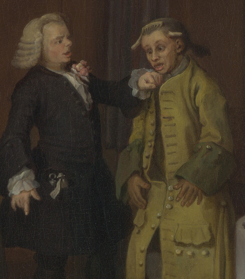 The blame game Hogarth Marriage a la Mode