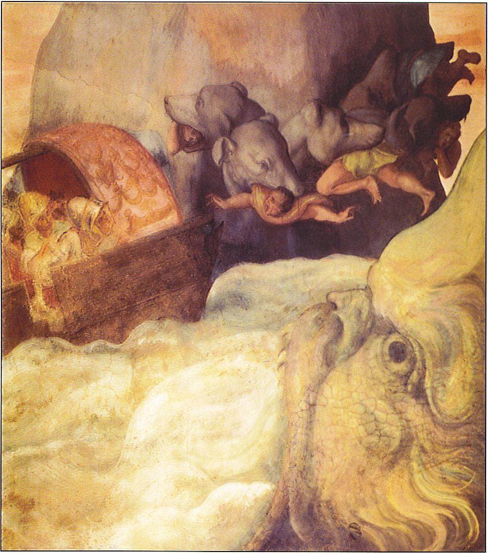 Ulysses fresco Scylla nd Charybdis
