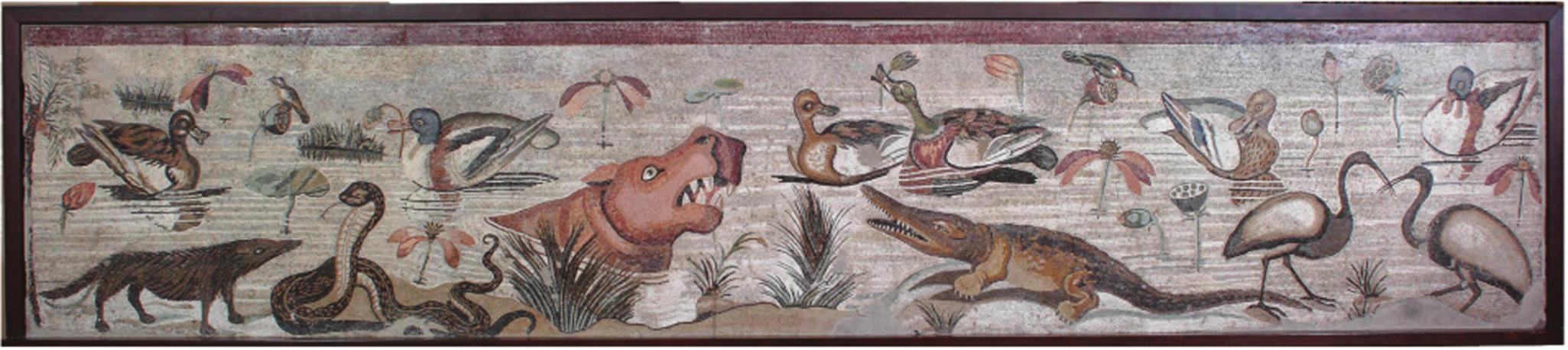House of the Faun Nile Mosaic