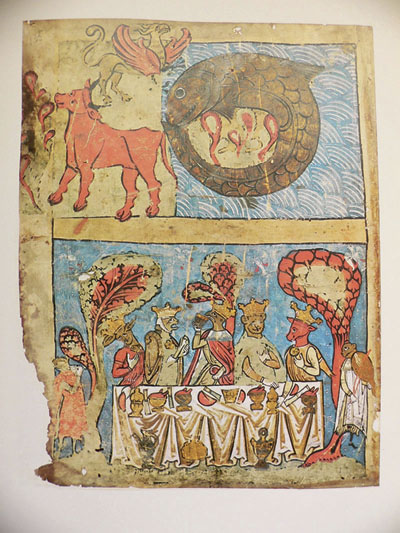 Ambrosiana Bible end of the world feast